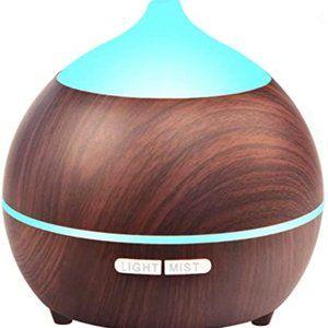 Essential Oil Diffuser, 250ml Wood Grain Aromather